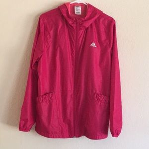 Adidas Pink Windbreaker in Size XL